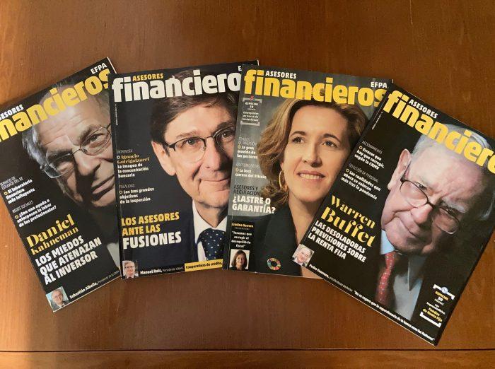 Asesores Financieros EFPA, la revista líder, rigurosa y formativa del sector
