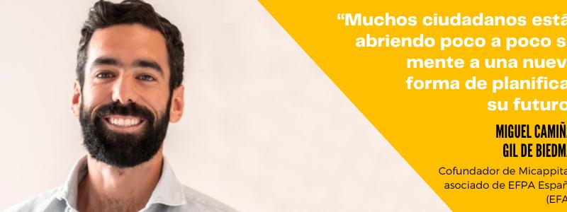 """Miguel Camiña: """"Muchos ciudadanos están abriendo poco a poco su mente"""""""