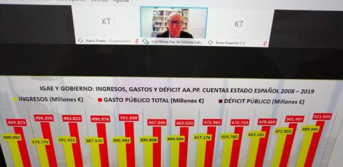 Muere el economista y divulgador José María Gay de Liébana