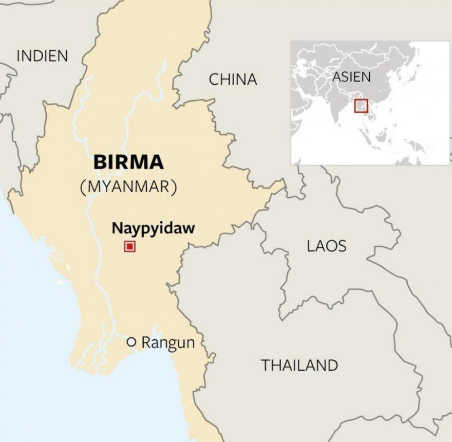 La crisis política en Myanmar y las inversiones en el sudeste asiático