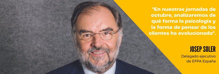 """Josep Soler: """"La función real, auténtica, de un asesor financiero nunca podrá ser exclusivamente digitalizada"""""""